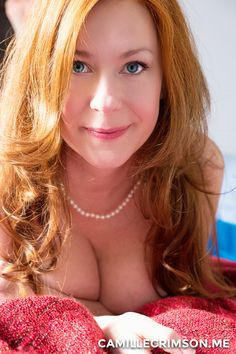 Wouldn't you want to rest your head on them comfy cleavage?