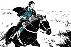 Clockwork Princess snippet/spoiler by Cassandra JP who illustrates it. Will Herondale from a scene about halfway through the book.