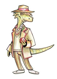 5th Doctor Dino