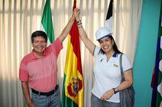 Con el Ejecutivo del Sindicato de YPFB compañero Rolando Borda. Gracias por su tiempo y estamos a las órdenes.
