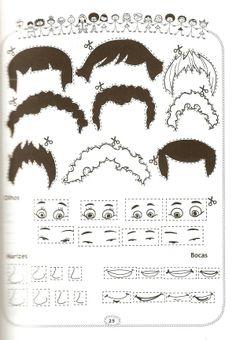 thema kapper, werkblad voor kleuters 4