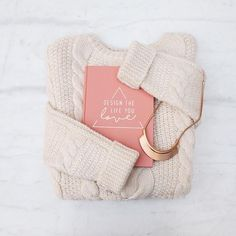 All our favorite things in one picture: cozy sweaters, rose gold accessories and of course our workbook!  Who is hoping to find a #joandjudy workbook underneath the Christmas tree tonight? 🎄  #holynight #christmas #joandjudyworkbook #lovelythings #workbook