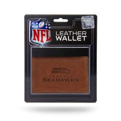 Seattle Seahawks Leather Embossed Trifold Wallet