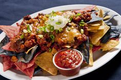 great with a blood orange margarita ! Seafood Nachos, Blood Orange Margarita, Korean Summer, Rolls, Lunch, Japanese, Ethnic Recipes, Japanese Language, Bread Rolls