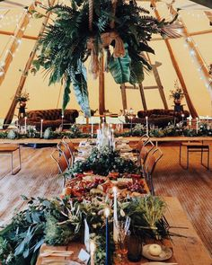 The tipi, the decor, the styling, that grazing table!! All the rustic, boho dreams right here 💛🌿 Grazing table    @grapeandfig Tent   …