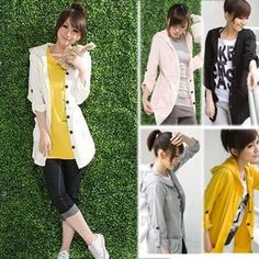 Womens Loose Thin Girl's Casual Hooded Trench Hoodie Outerwear Coat Jacket G3860 #Unbranded #Hoodie jubilee