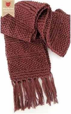 Ideas For Knitting Patterns Scarf Scarves Beautiful Knitting & ideen für strickmuster schal schals schönes stricken & idées pour les modèles de tricot écharpe écharpes beau tricot Diy Knitting Scarf, Loom Knitting, Crochet Shawl, Knitting Stitches, Knit Crochet, Knitting Machine, Knitting Patterns For Scarves, Finger Knitting, Knit Cowl