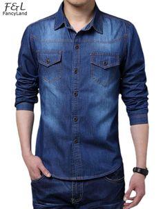 e9ef6bd5c5f20 52 mejores imágenes de camisas jean