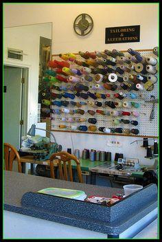 8 Best Tailor Shop Images Tailor Shop Tailored Thread Rack