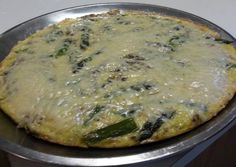 Asparagus Morel Mushroom and Leek Frittata Recipe - How are you today? How about making Asparagus Morel Mushroom and Leek Frittata?