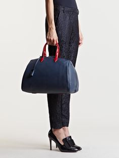 Myriam Schaefer Women's Horlodge Joyce Bag In Navy - iVIP BlackBox