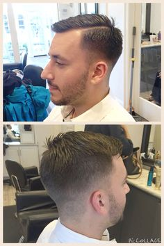 Men's cut, hard part, barber cut, fade, stylist, Mandeville, La, air Blowdry bar