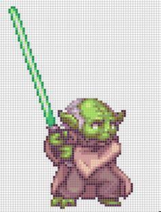 597 Best Star Wars Pixel Art Perler Beads Images In 2019