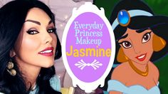 Everyday Princess Jasmine Makeup | Kandee Johnson. I'm totally toning this down but I'm wearing this!