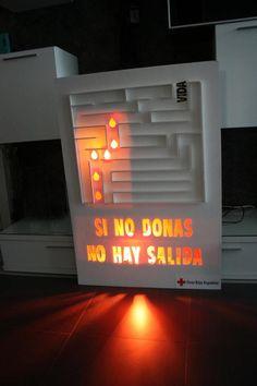 Un grupo de estudiantes de la Universidad Rey Juan Carlos (España) nos envía esta acción para Cruz Roja. ¿Te gusta?