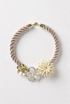 You would be shocked at how cheap it is to make these! Craft Store + sisterhood = cute statement necklace!