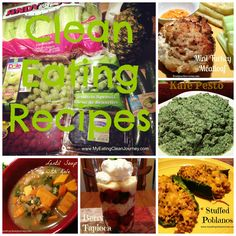 Clean Eating Recipes #MyEatingCleanJourney