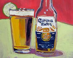 Beer Art Print of Corona - Year of Beer 01/07 - Limited Edition, Signed by the Artist
