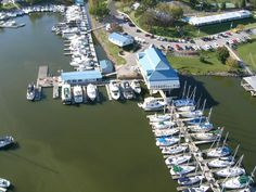 Grand Rivers Kentucky - Green Turtle Bay Resort & Marina .  CYC arial view.  For more information check website at www.greenturlebay.com