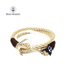 Lough Hyne Nautical Bracelet by Bran Marion Nautical Bracelet, Nautical Jewelry, Marine Rope, Everyday Look, Handmade Bracelets, Jewelry Collection, Your Style, Handsome, Surfers