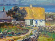 ''Old Irish Home'' 16x20
