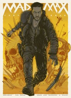 "EXCLUSIVE: Poster Posse Project #15 Embraces The Insanity Of ""Mad Max: Fury Road"""