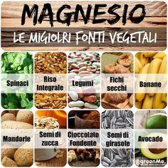 Magnesio: le 10 migliori fonti vegetali - greenMe