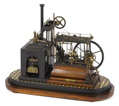Lot: Highly detailed working steam walking beam engine, 19th, Lot Number: 0016, Starting Bid: $1,500, Auctioneer: Pook & Pook with Noel Barrett, Auction: Iron & Steam Toys: Day 1, Date: March 31st, 2017 EEST