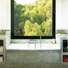 SVK Interior Design: Using Concrete in the Bathroom
