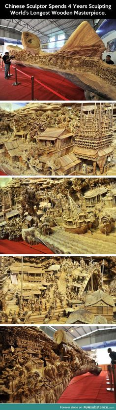 World's longest wooden masterpiece.