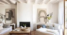 decordemon the blog ... a daily dose of stunning interiors, inspiration boards and design. Christina Cole, Barcelona, Spanish Style Homes, Famous Architects, Marble Fireplaces, Inspiration Boards, Design Projects, Interiors, Flooring