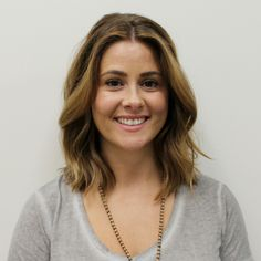 Balayage face-framing highlights and a lob styled by Jamie at Mario Russo Liberty.
