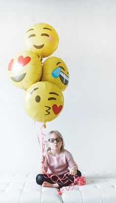A personal favorite from my Etsy shop https://www.etsy.com/listing/269901854/new-emoji-heart-eyes-balloon