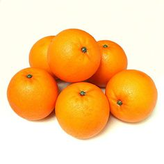 ALEKO 6AFORG Decorative Realistic Artificial Fruits  Package of 6 Oranges >>> See this great product.