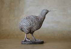 Great Spotted Kiwi - by Harriet Knibbs Sculptures