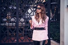 Edgier Way to Wear Pink | VivaLuxury