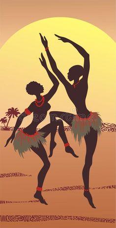 Illustration about Dancing couple of Africans. Illustration of people, female, color - 13921780 African Drawings, African Art Paintings, African Artwork, African American Art, African Women, Black Women Art, Black Art, Arte Black, Afrique Art