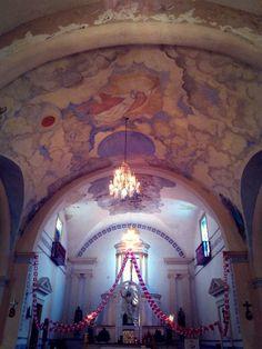 Iglesia Principal, Real de Minas Zacualpan, Estado de México.