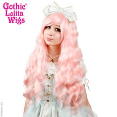 Gothic Lolita Wigs®  Classic Wavy Lolita™ Collection - Pink Blonde#lolita #wig #wig4wig #glw #gothcilolitawigs #pastelhair #curlyhair #princess #doll #dolly #livingdoll #lolitafashion #Jfashion #makeupartist #circlelenses #eyelashes #rockalash #dolluxe #lash #lashes #kawaii #cute #pretty #gyaru #mori #ulzzang #angelicpretty #babythestarshinebright