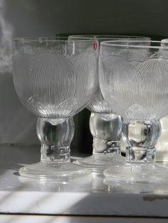Iittala, pioni lasit