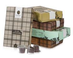Hardy Caffé, est. 1954 - 50 Nespresso Compatible Capsules - Italian Espresso Variety Pack - Coffee Pods for OriginalLine Machines