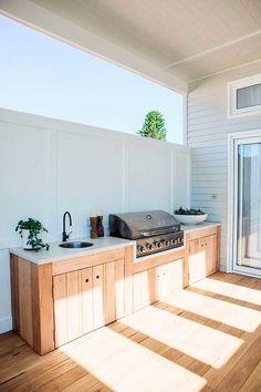 Home Design, Küchen Design, Design Ideas, Modern Design, Design Inspiration, Kitchen Inspiration, Outdoor Bbq Kitchen, Outdoor Kitchen Design, Kitchen Decor
