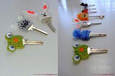 Ideas para decorar las llaves | Aprender manualidades es facilisimo.com