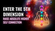 Enter The 5th Dimension | Mount Into Higher Senses | Raise Absolute High... Chakra Healing Music, 5th Dimension, Healing Codes, Sound Healing, Meditation Music, Raising, Affirmations, Connection, Believe