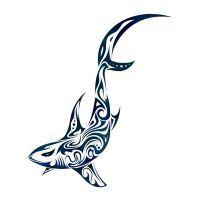Tribal Shark by Dessins-Fantastiques