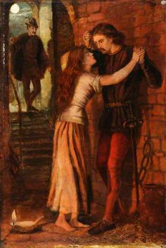 Faust and Marguerite in prison by Dante Gabriel Rossetti