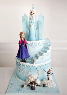 Frozen Cake by Kek Couture