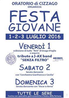 Festa Giovane a Cizzago http://www.panesalamina.com/2016/48878-festa-giovane-a-cizzago-2.html