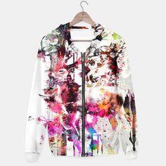Deer /  / #woman #fashion #design #art #digital #flowers #deer #animals