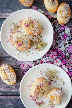 Elderflower and Goldenberry Friands | Tartine and Apron Strings